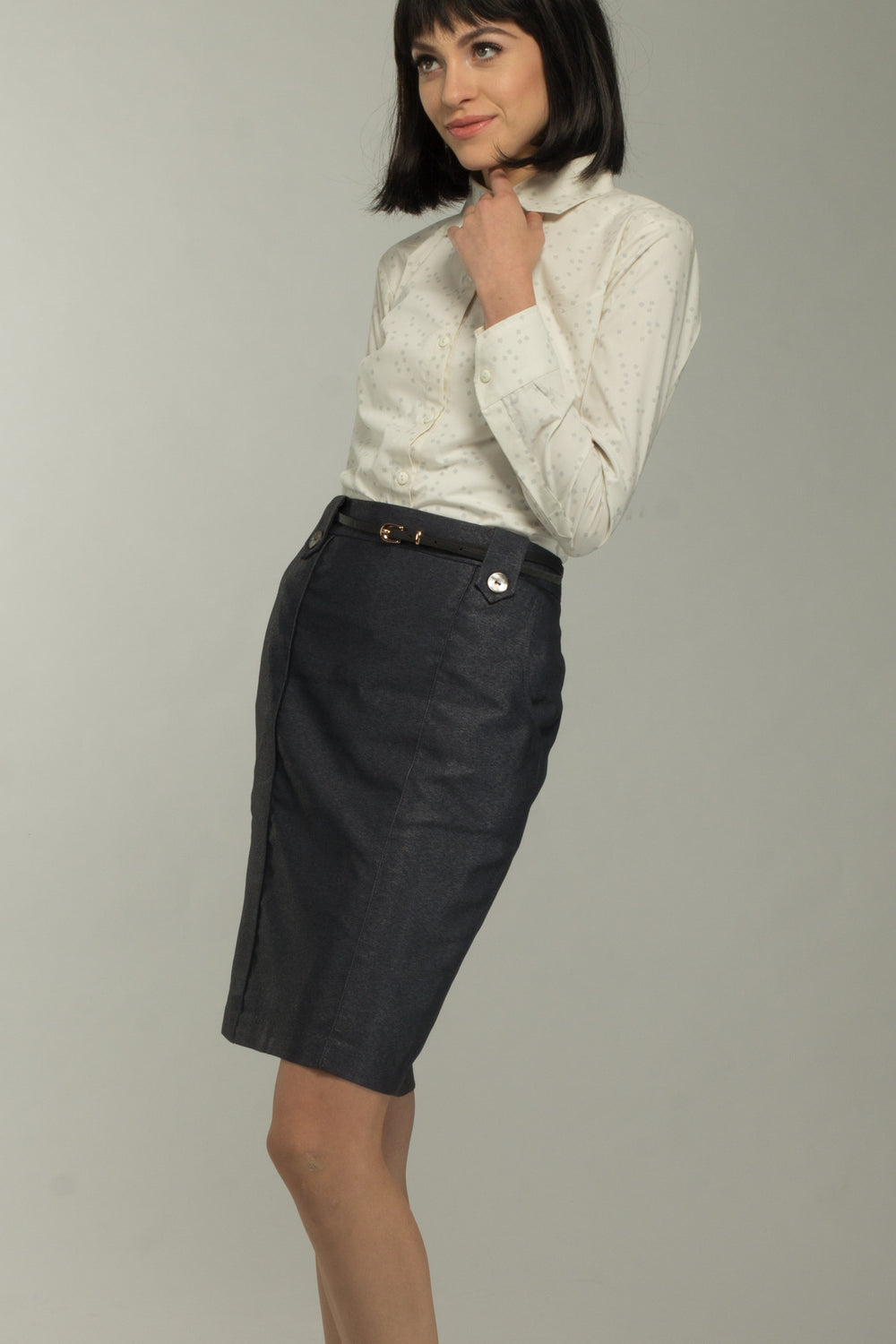 Steele Pocketed Skirt