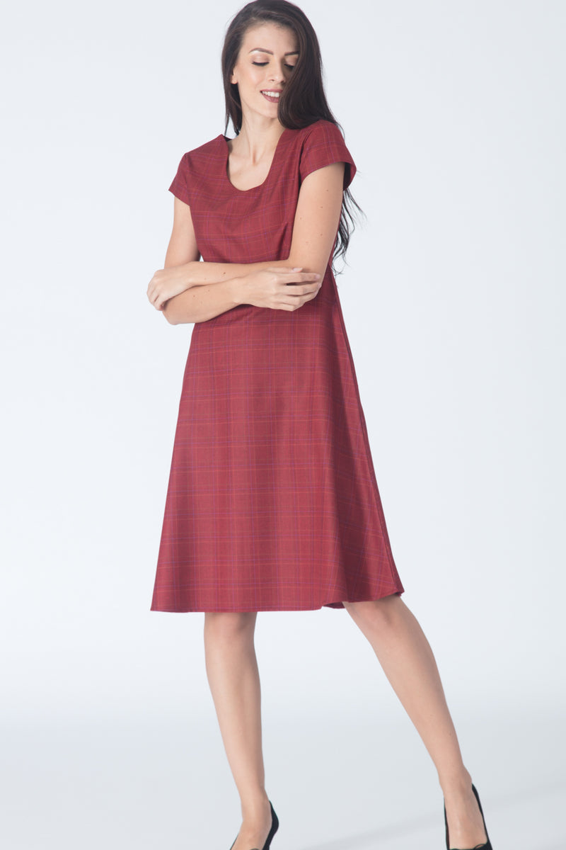 Reede Fit and Flare Dress
