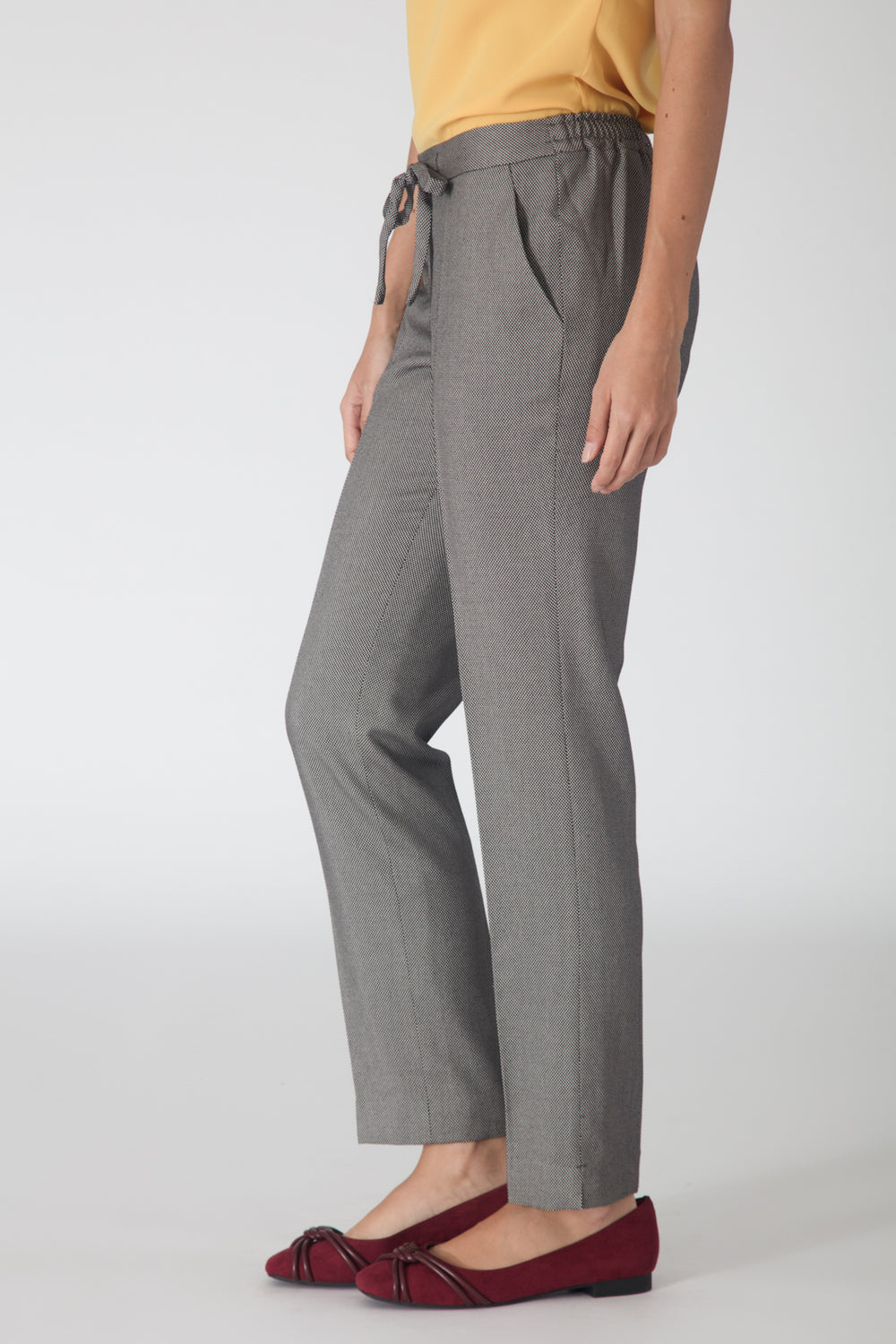 Grey Drawstring Pants