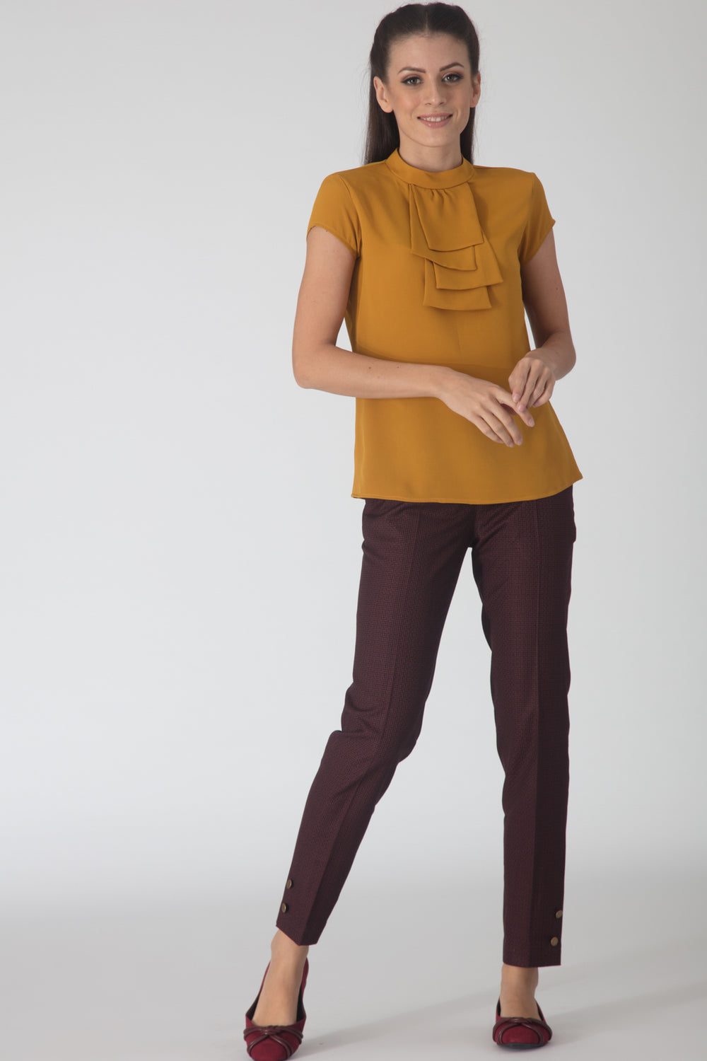 Layers Mustard Blouse