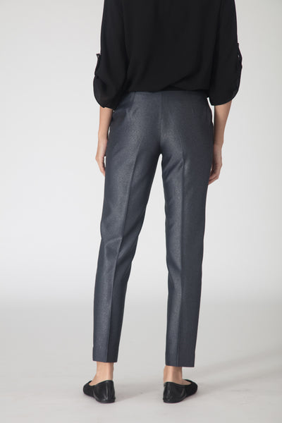 Grey Contrast Trousers