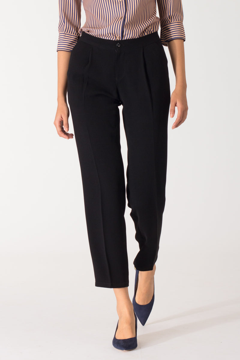 Black Formal Pants