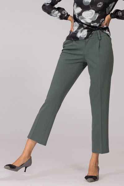 Russian Green Stretch Pants
