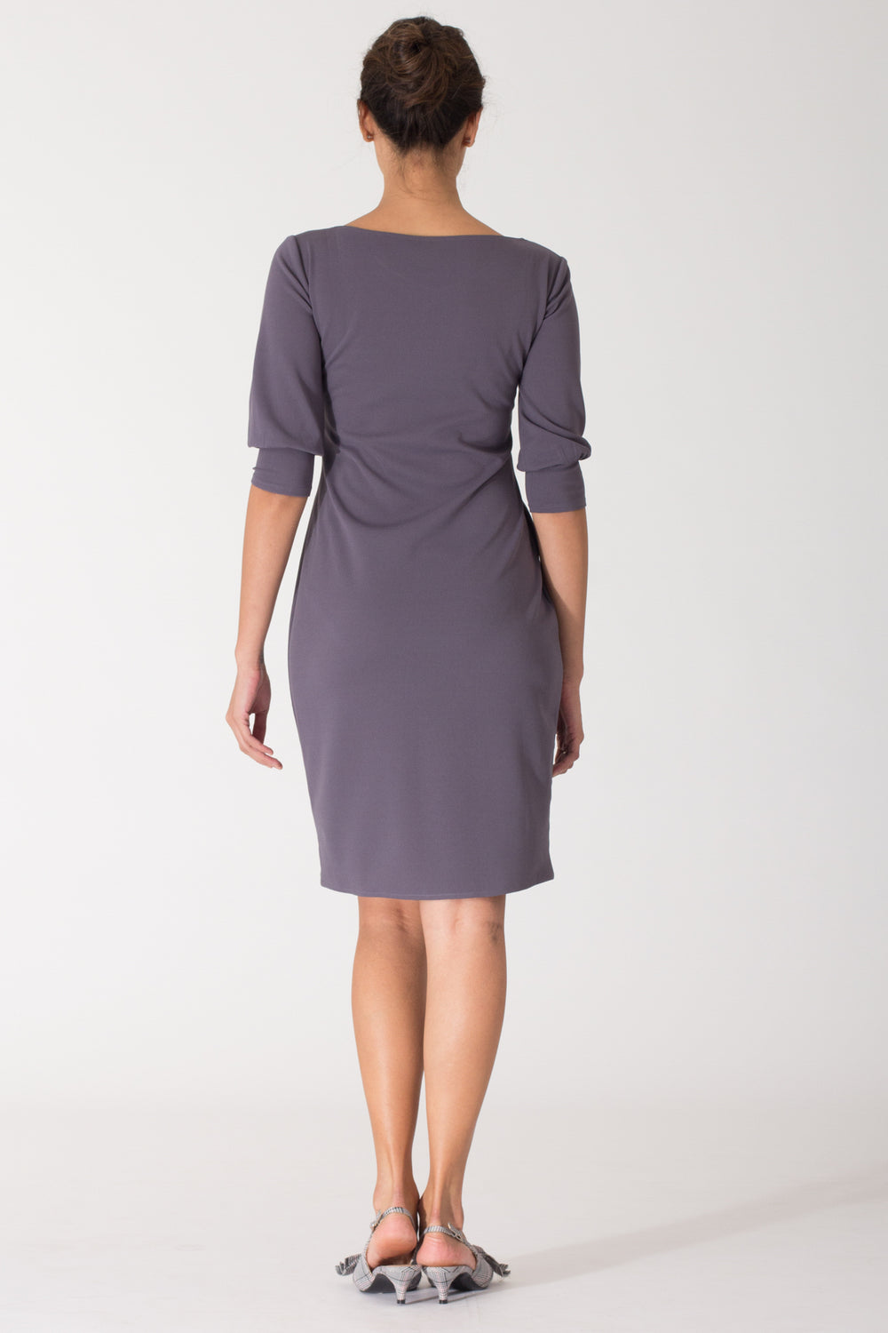 Bella Shift Dress with Blouson Sleeve