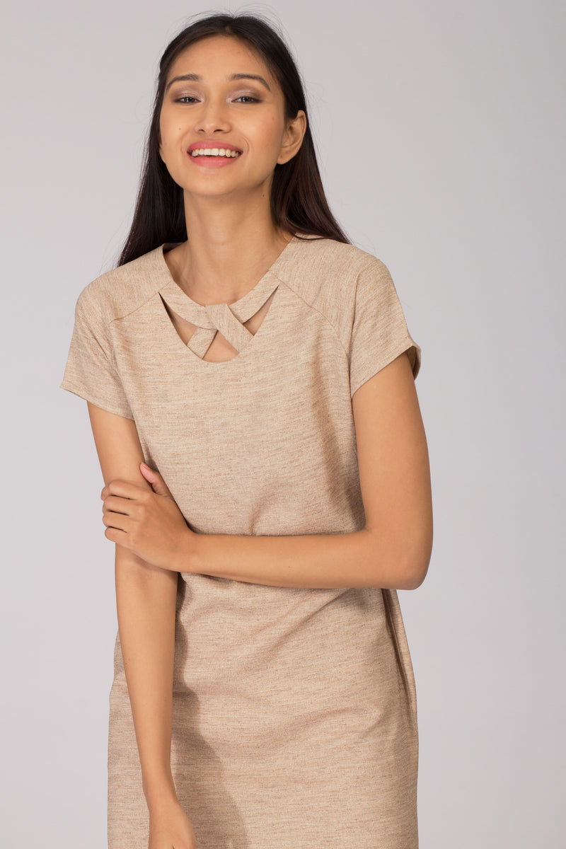 Mojave Raglan Shift Dress