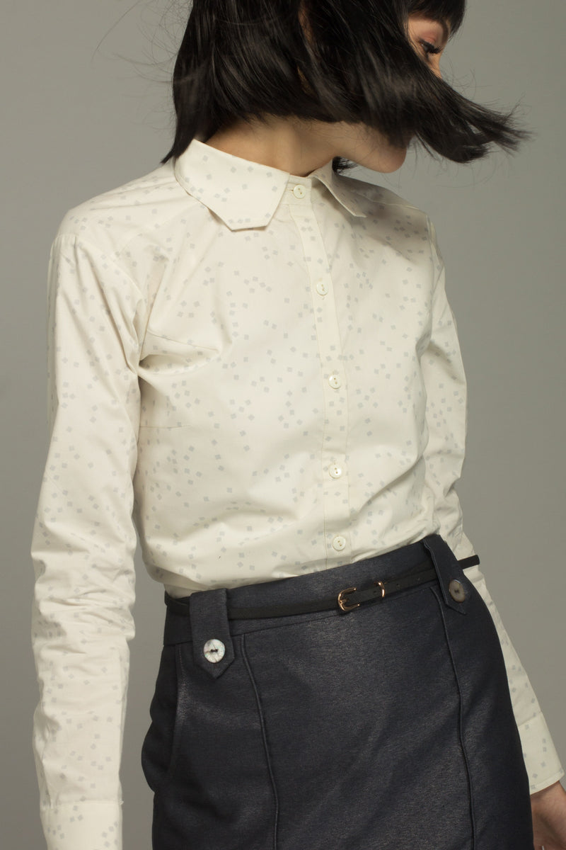 Kyoto Cropped Collar Shirt