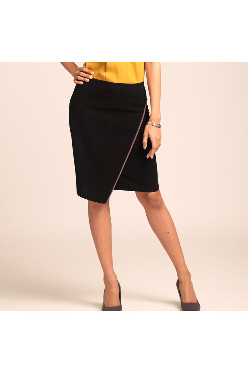 Mills Wrap Front Skirt