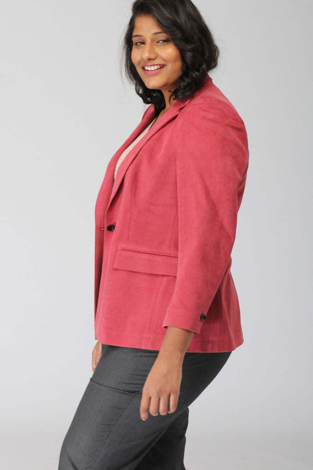 Geneva Punch Pink Jacket