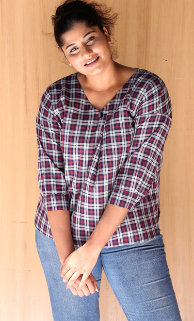 Brighton Cotton Flannel Top