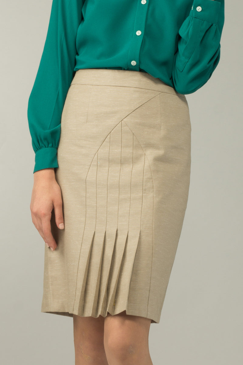 Genoa Pleated Skirt