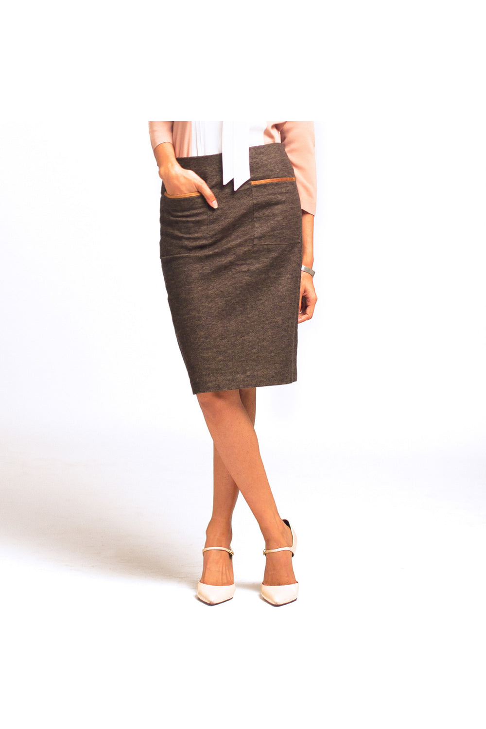 Cedar Colored Skirt