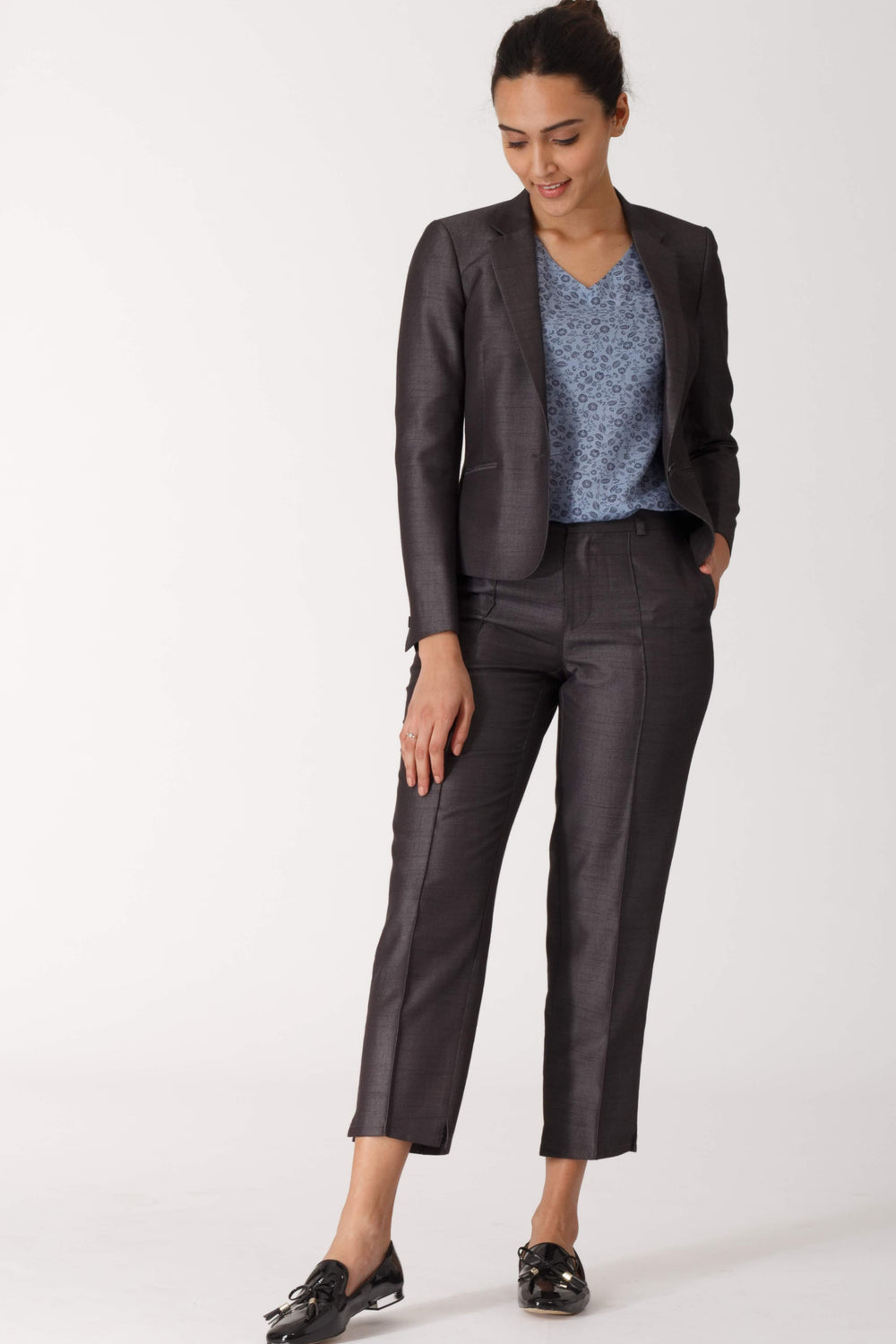 Charcoal Grey Formal Blazer