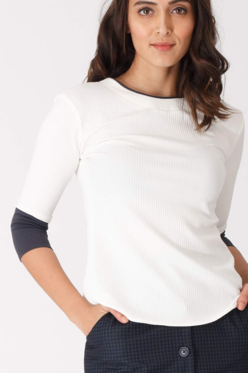 Dakota Contrast Trim Top