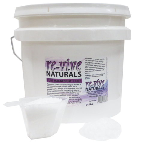 Re-vive Naturals Magnesium Chloride Flakes 24 Lbs