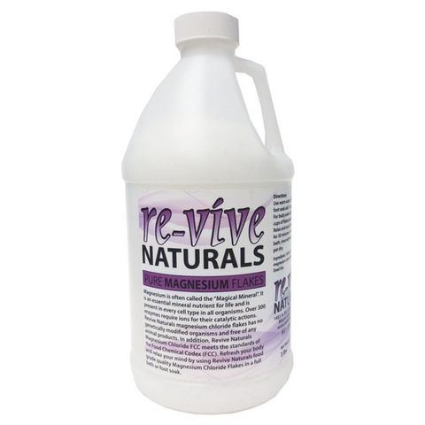 Re-vive Naturals Magnesium Chloride Flakes 3 Lbs