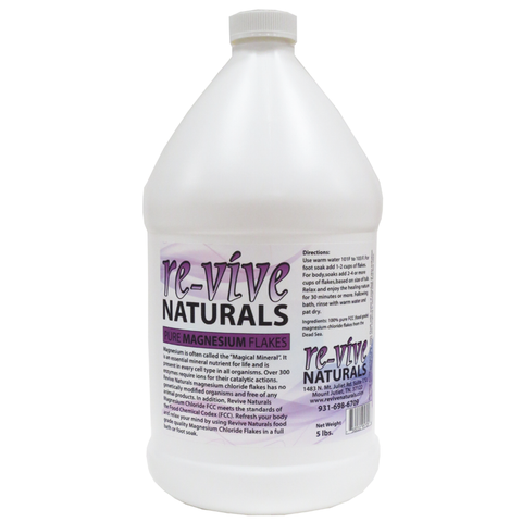 Re-vive Naturals Magnesium Chloride Flakes 5 Lbs