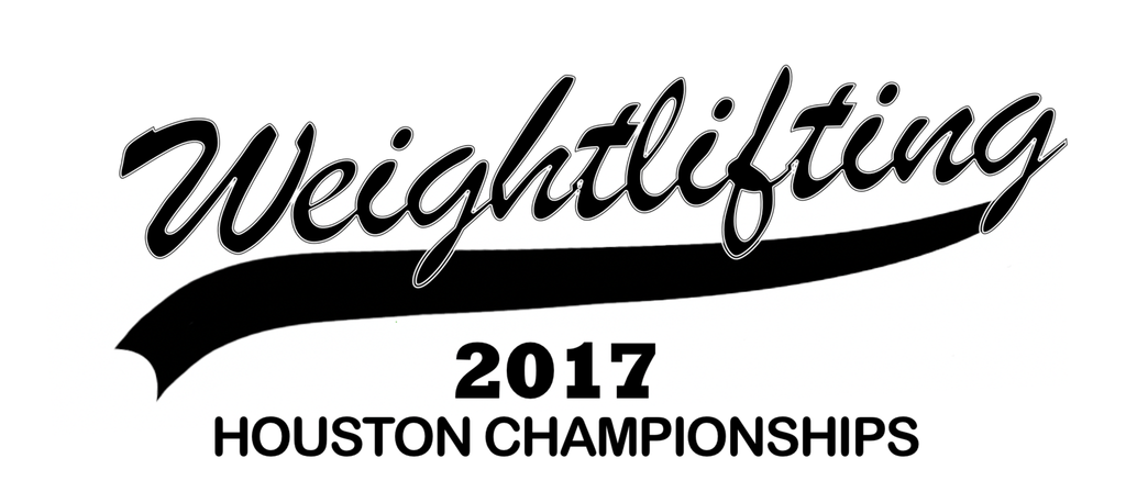2017 Houston Weightlifting Championships Shirt