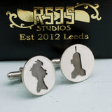 Fry and Bender Sterling Silver Cufflinks - RSJSStudios - 3