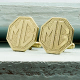 Upcycled MG Car Key Cufflinks - RSJSStudios - 1