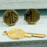 Upcycled MG Car Key Cufflinks - RSJSStudios - 3