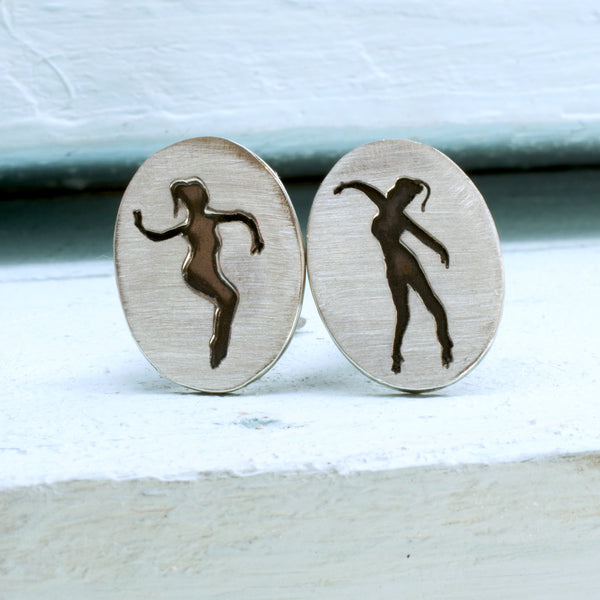 Private Dancer - Arabian Nights Inspired Cufflinks - RSJSStudios - 1