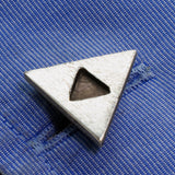 Tri Force Sign Sterling Silver Cufflinks - RSJSStudios - 3