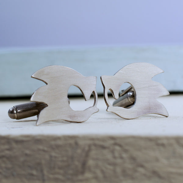 Sonic the Hedgehog Cufflinks - RSJSStudios - 1