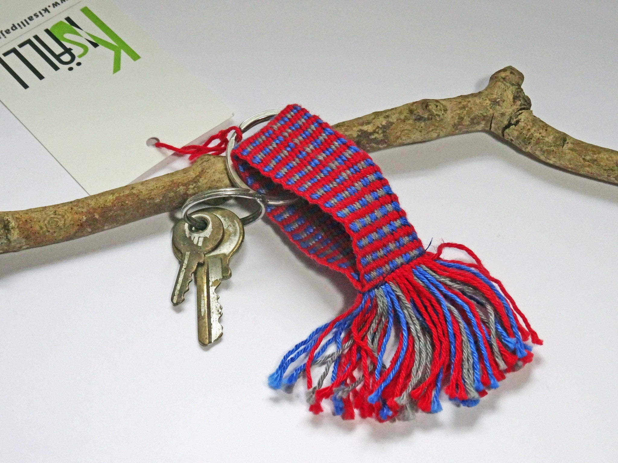 Handwoven Keyrings