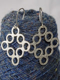 Silver 'Loop' Earrings