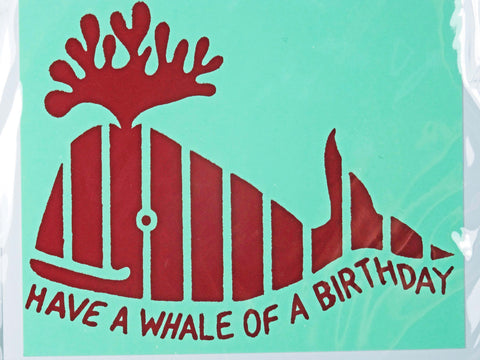 Have a Whale of a Birthday Cards