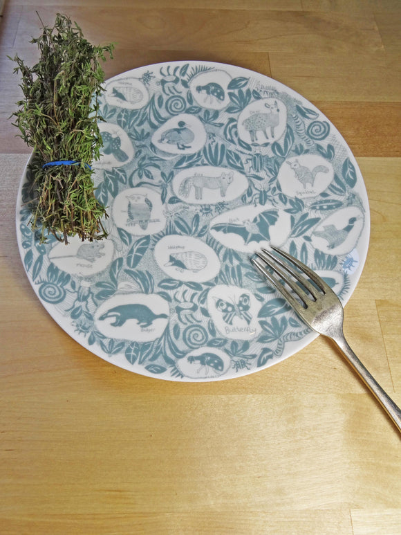 British Wildlife Plate