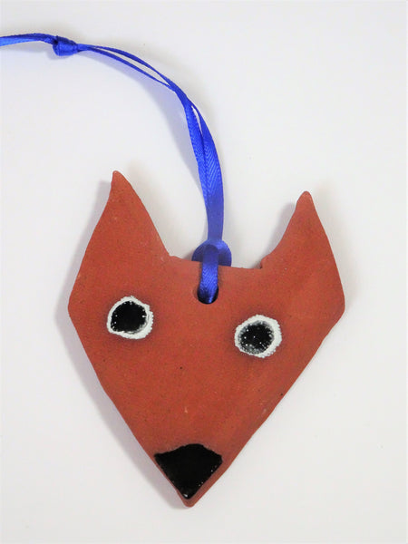 Fox on ribbon