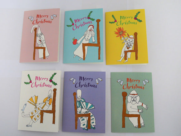 Character Christmas Cards