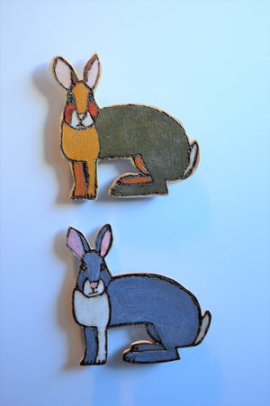 Bunny Fridge Magnets