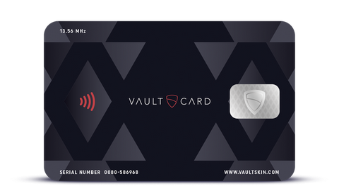 VAULTCARD: Ultimate Protection For Your RFID Credit Cards & Passports