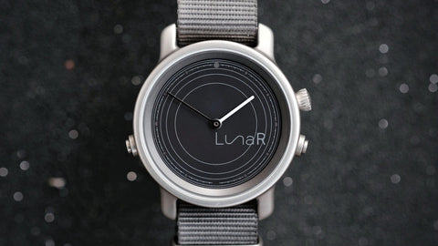 LunaR, The World's First Solar Powered Smartwatch