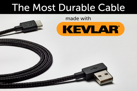 ZUS Kevlar Charging Cable - Lifetime Guarantee