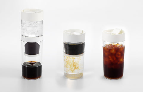 Dripo - 3 in 1 Travel Iced-drip Coffee Maker & Tumbler