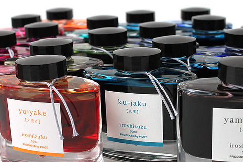 Pilot Iroshizuku Fountain Pen Ink (50ml bottled)
