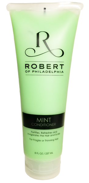 Mint Conditioner • For thinning, dry or damaged hair • Fortifies • Refreshes • Invigorates