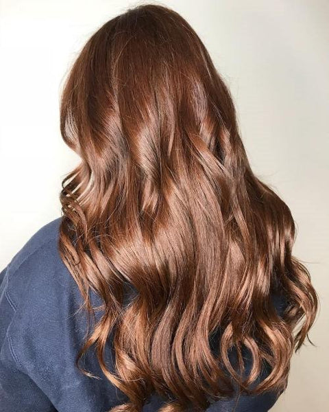 Add a Hair Glaze! Extends color life and adds shine