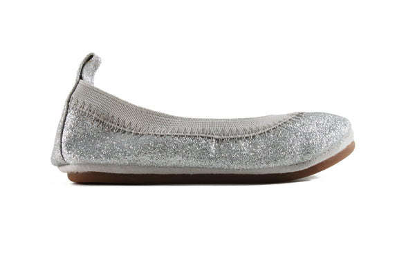 Sammie Glitter Girls Flat - Yosi Samra Women's shoes