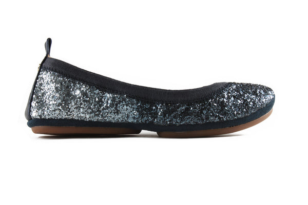 Serena Glitter Mezzo Blue - Yosi Samra Women's shoes