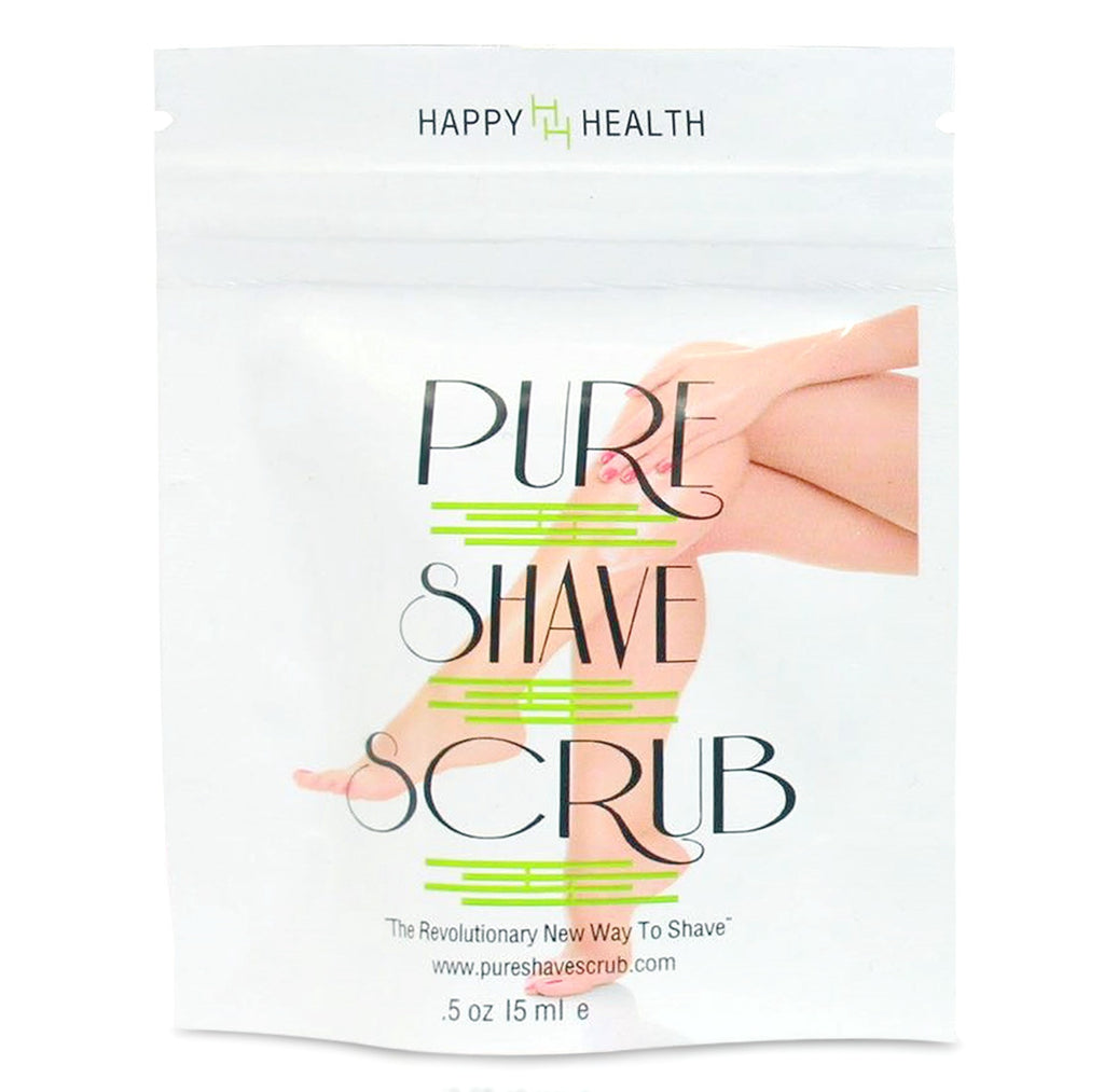 Pure Shave Scrub Hair Growth Sections