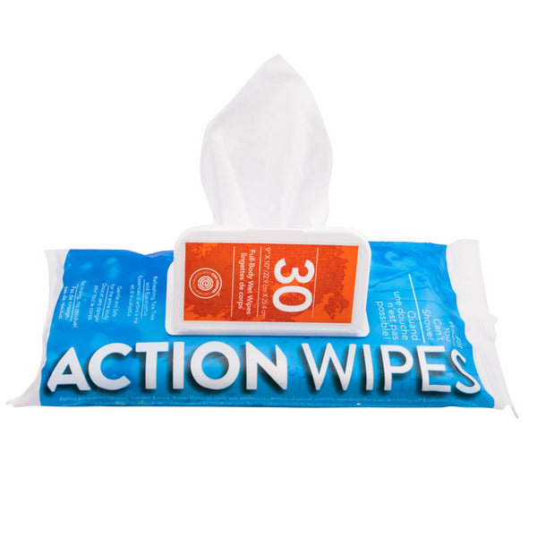 paquet de 30 lingettes Action Wipes