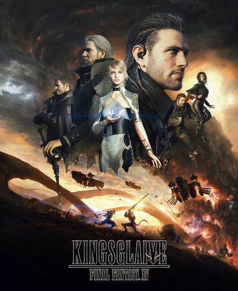 Spoiler-Free (maybe?) Movie Rant: Kingsglaive - Final Fantasy XV