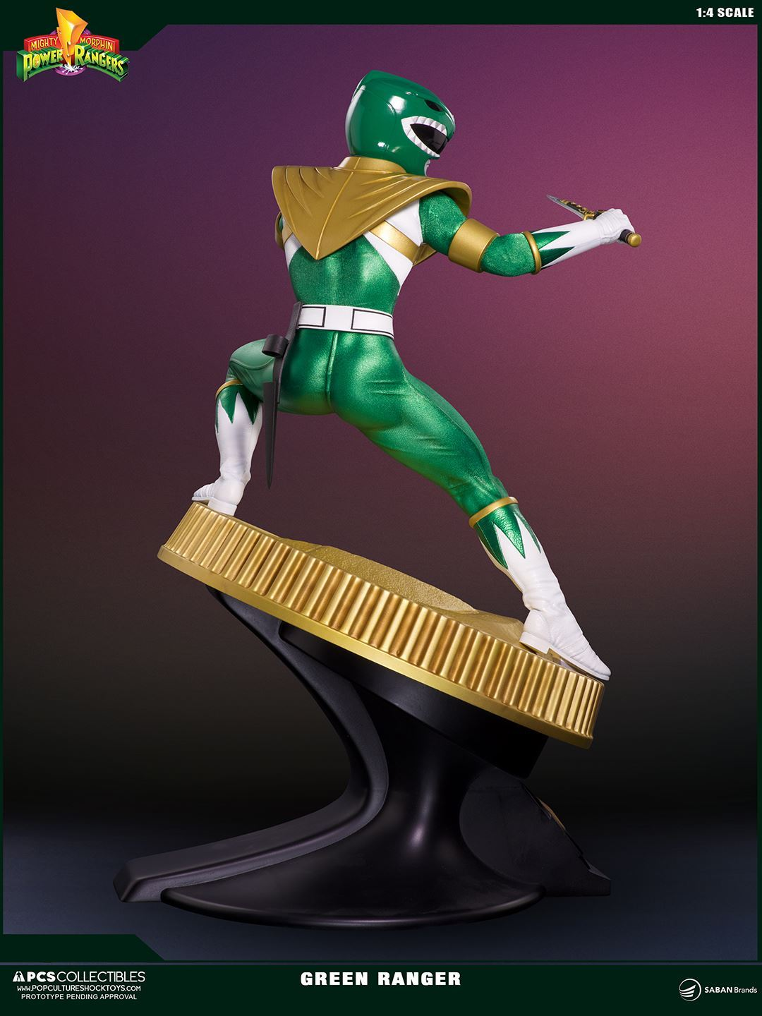 PCS Collectibles - Mighty Morphin' Power Rangers - Green Ranger 1/4 Statue