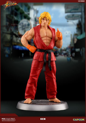 Pop Culture Shock - Street Fighter - Ken 1:8 Scale Collectible Statue