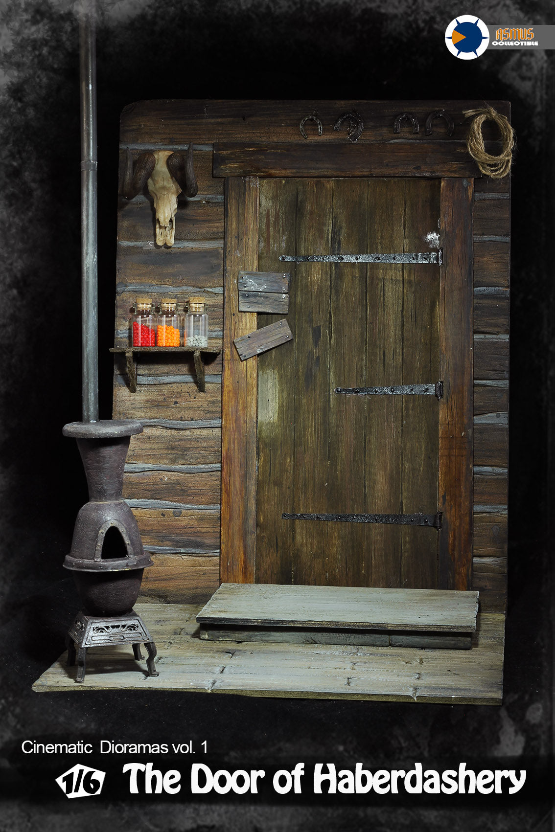 Asmus Toys - Cinematic Diorama - The Hateful Eight - The Door of Haberdashery (1/6 Scale)