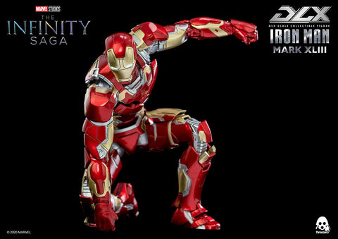 Threezero - DLX Scale - Avengers: Infinity Saga - Iron Man Mark XLIII (1/12 Scale)